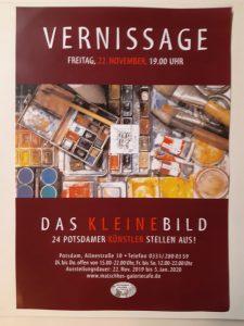 """Gemeinschaftsausstellung """"Das kleine Bild"""" (ID: Ausst_CM) @ Künstler-Café Matschke"""